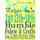 Humble Fabrics and Crafts